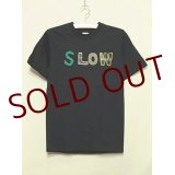 shiii+po SLOW Tee Black