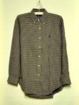 Polo ラルフローレン LSネルBDシャツ チェック size S
