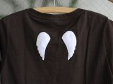 "【参考商品】 オーダー 「gura's Angel LIFE Tee ""Chocolate""」"