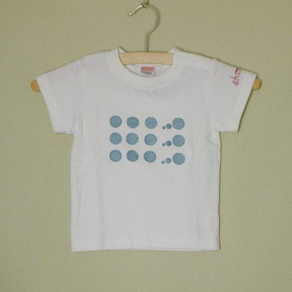 画像1: ★受注制作用★ Hand-Stamp Tee 『Bubbles』 フルサイズ対応 (90〜160、S〜XL)