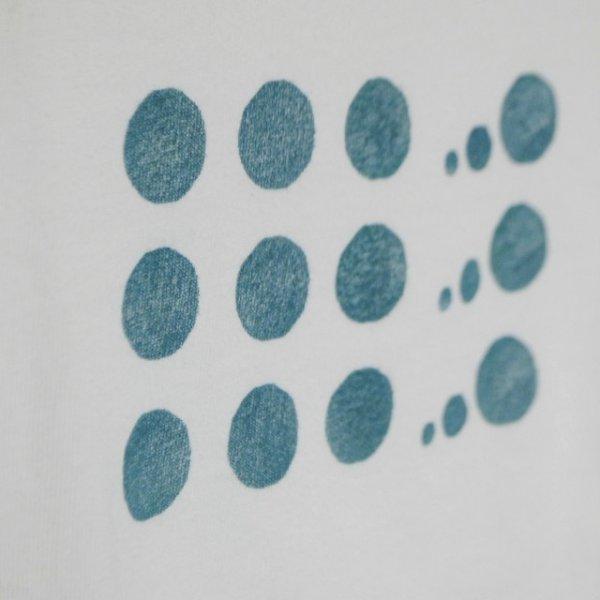 画像3: shiii+po Hand-Stamp Tee 『Bubbles』 size 130