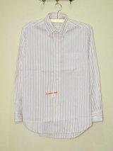 NORTH of HEAVEN BDシャツ マルチカラーストライプ WHT/PNK/NVY size 41cm/16