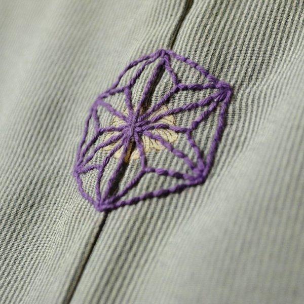 画像3: 【参考商品】 オーダー背守り刺繍 麻の葉 at 着物
