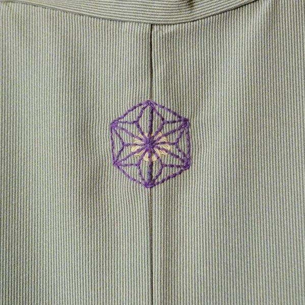 画像2: 【参考商品】 オーダー背守り刺繍 麻の葉 at 着物