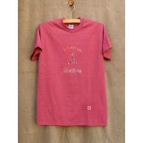 shiii+po ネイティブアメリカンの背守りTee Tipi + Native + Medicine Wheel Red杢 size M
