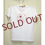 ThanksエンブレムTee WHITE/RED Youthサイズ